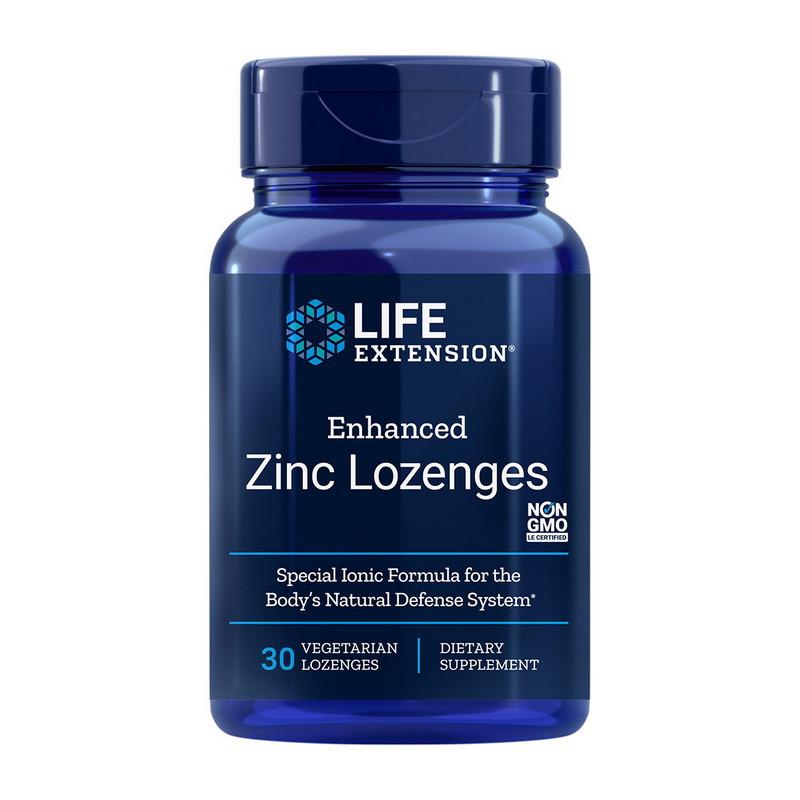 Цинк Life Extension Enhanced Zinc Lozenges (30 veg lozenges)