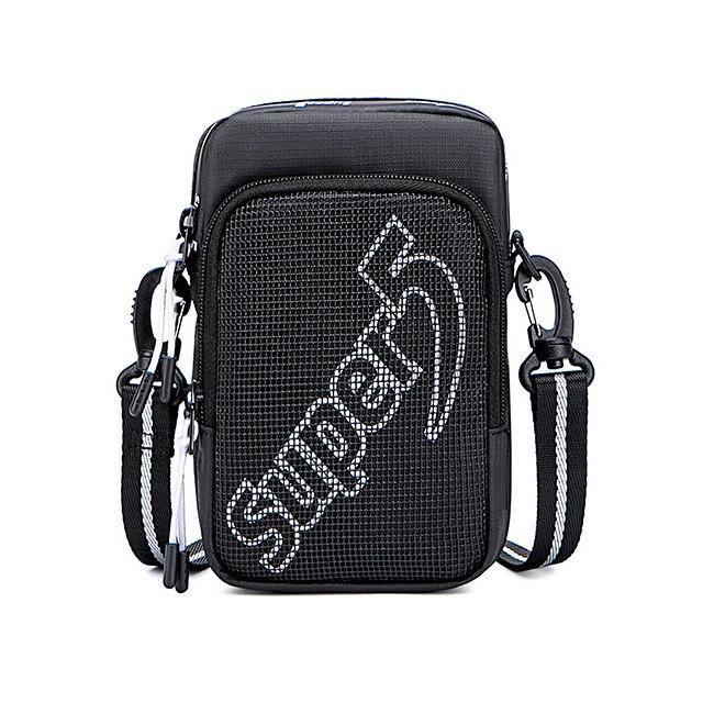 Небольшая сумочка через плечо Super5 K00122, с двумя отделениями, из водоотталкивающей ткани, 1л