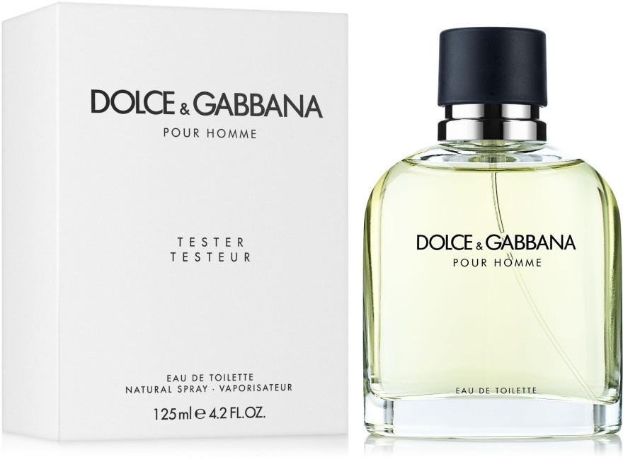 Тестер чоловічий Dolce&Gabbana Pour Homme