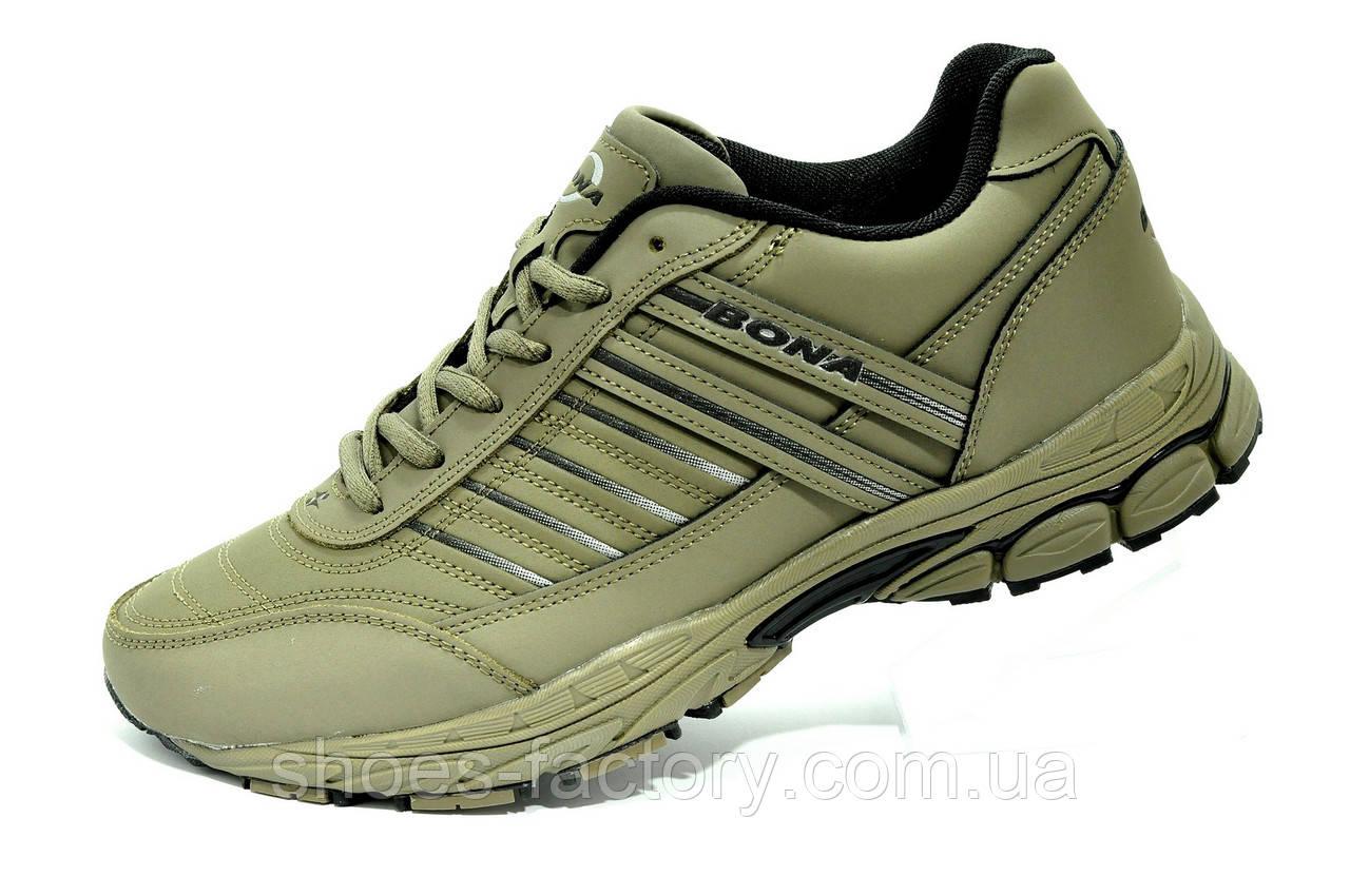 Мужские кроссовки Bona 2021 Хаки Бона