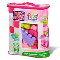 Конструктор рожевий у мішку  Mega Bloks