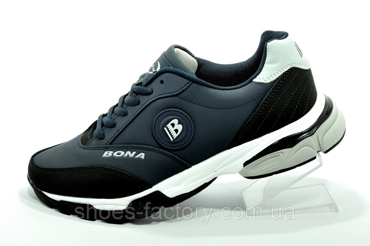 Мужские кроссовки Бона 2021 Bona синие