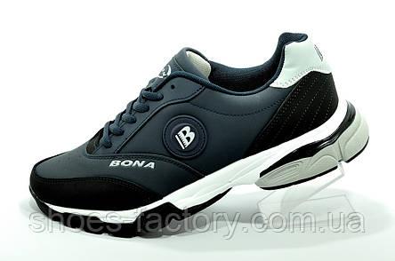Мужские кроссовки Бона 2021 Bona синие, фото 2