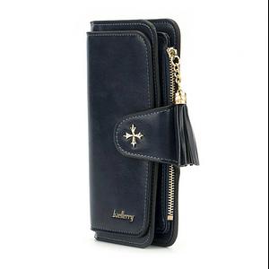 Жіночий гаманець, портмоне Baellerry N2341 Темно-Синій