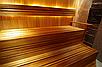 Вагонка термоосина финская для стен и потолка 1600х90х15 мм для бани и сауны, фото 5