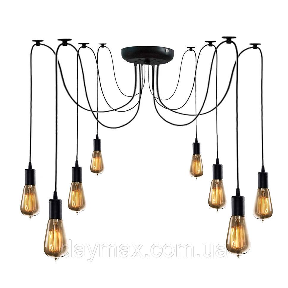 Люстра паук на восемь ламп NL 149-8 MSK Electric