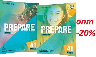 Английский язык /Prepare/ Student's+Workbook. Учебник+Тетрадь (комплект), 1 / Cambridge