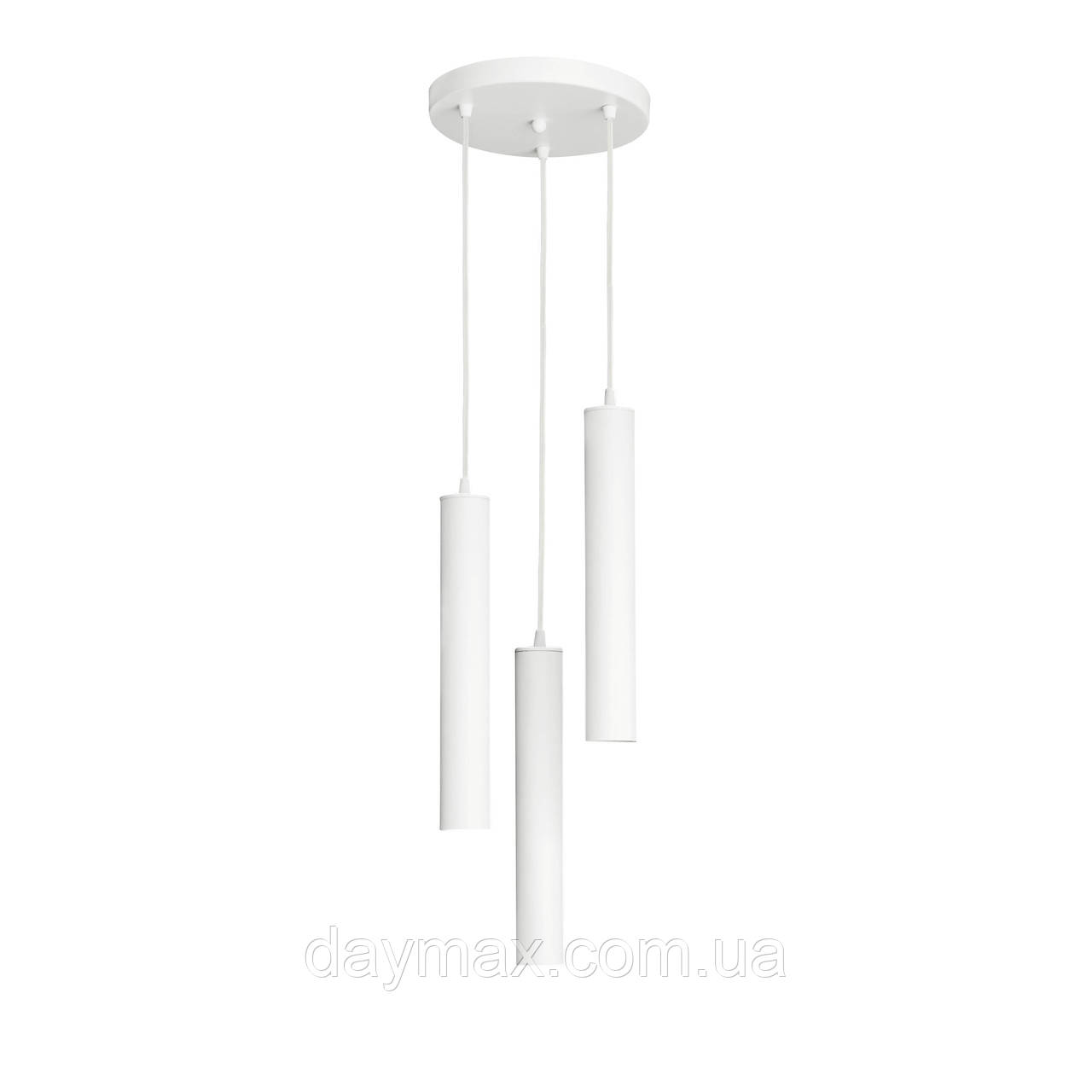 Светильник подвесной  Трубка  NL 3522-3R W  MSK Electric