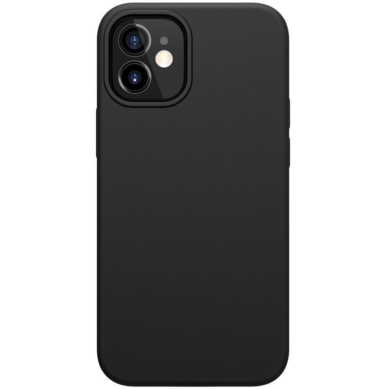 Магнитный силиконовый чехол Nillkin для iPhone 12 mini (5.4″) Flex Pure Pro Magnetic Case Black