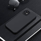 Магнитный силиконовый чехол Nillkin для iPhone 12 mini (5.4″) Flex Pure Pro Magnetic Case Black, фото 6