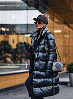 Жіноча куртка,тканина-плащівка lake стьобаний на синтепон 250, полклад поліестр. Зима (44-50)