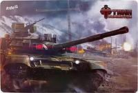 Подложка настольная, 42,5*29см РР Tanks Domination