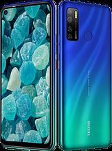 """Смартфон Tecno Spark 5 Pro 4/64Gb с большим экраном 6,6"""" с мощной батареей и тройной камерой синий"""