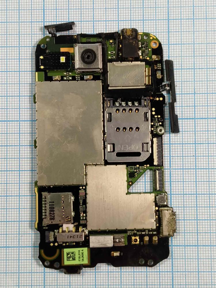 Системна плата HTC Wildfire S (PG76100) б/в