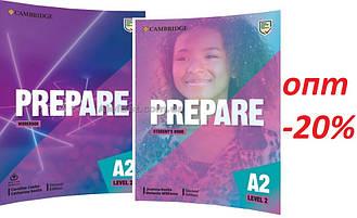 Английский язык /Prepare/ Student's+Workbook. Учебник+Тетрадь (комплект), 2 / Cambridge