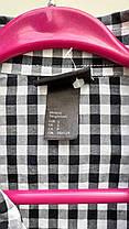 Чоловіча сорочка в клітку HsM Розмір S (Я-95), фото 3