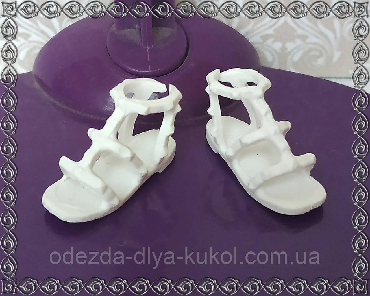 Обувь для Барби - (босоножки для узкой плоской стопы)