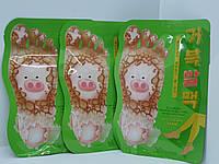 Пилинг-носочки для ног Elizavecca Witch Piggy Hell Pore Turtle's Foot Pack, фото 1