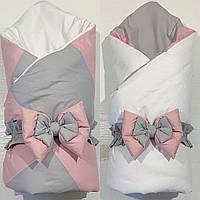 Кокон-гнездышко с одеяльцем для новорожденных + ортопедическая подушка (Двухсторонний)