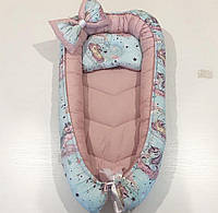 Кокон-гнездышко для новорожденных (Двухсторонний)