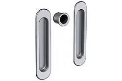 Ручки для раздвижных дверей AGB Scivola, матовый хром