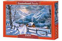 Пазлы Снежное утро 1500 элементы, Castorland, пазл,пазлы castorland,детские пазлы,пазлы для детей