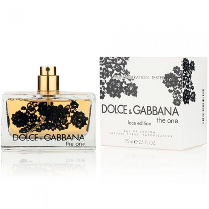 Тестер женский Dolce&Gabbana The One Lace Edition