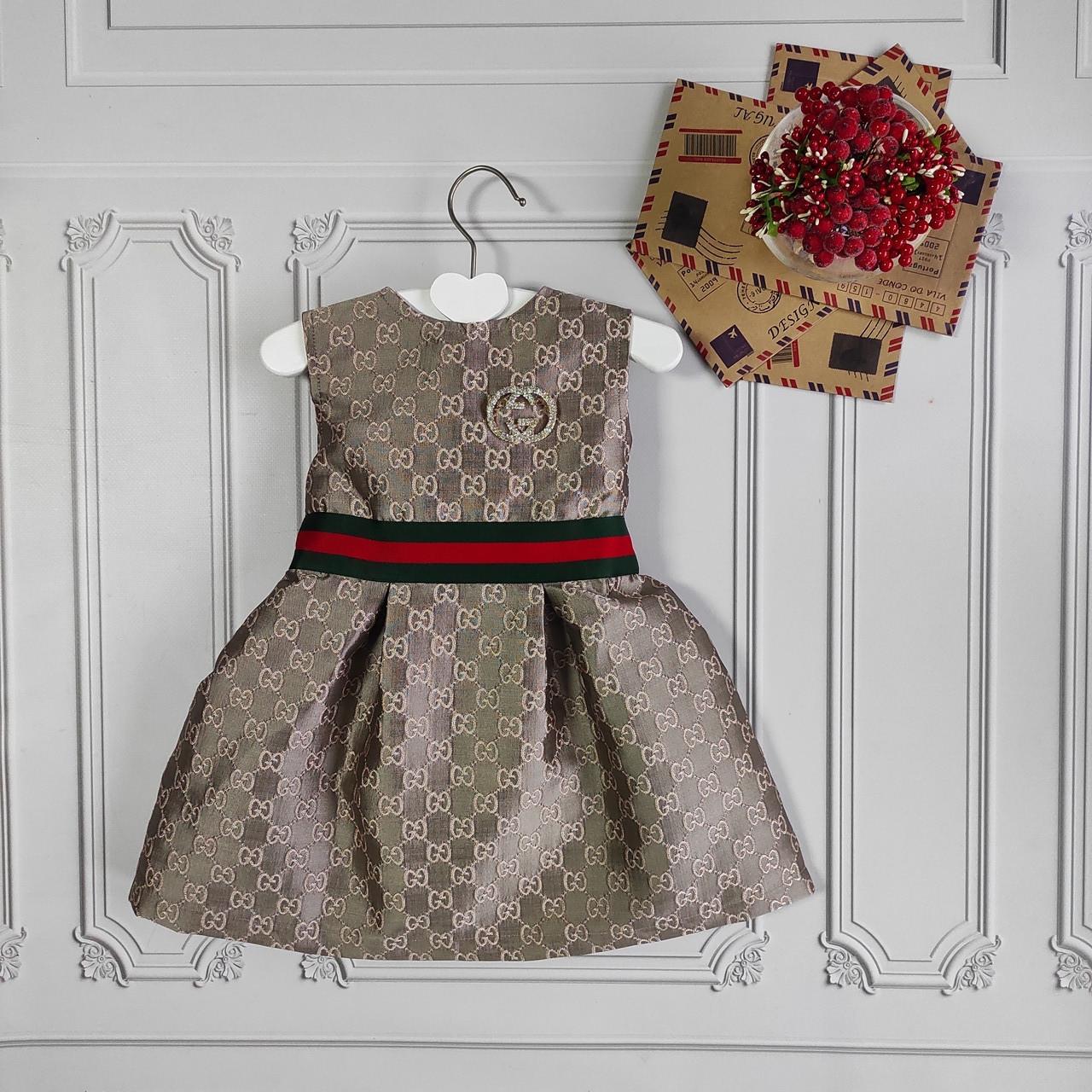 Детское нарядное платье Gucci