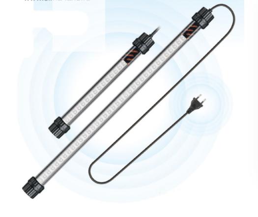Светильник светодиодный Xilong LED-D30 2W для аквариума 28см с разноцветным свечением