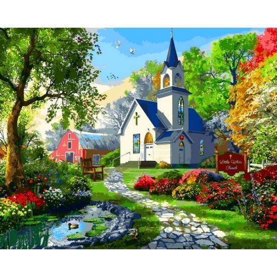 Картина за номерами VP1287 Маленька Біла Церква VP1287, Babylon, 40x50 см.