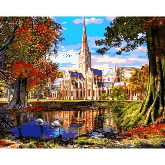 Картина за номерами VP1290 Ставок у замка VP1290, Babylon, 40x50 см.