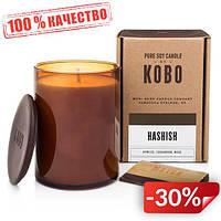Ароматическая свеча Kobo Hashish 425 г (811407)