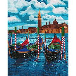 Картина по номерам КНО2749 Венецианское такси , 40x50 см., Идейка