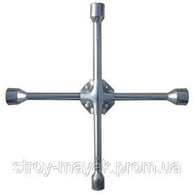 Ключ-крест баллонный 17х19х21х22 мм, усиленный, толщина 16 мм, MTX PROFESSIONAL