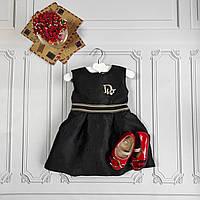 Нарядное детское платье Dior, фото 1