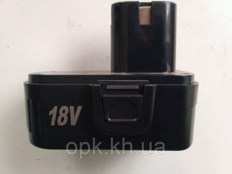 Аккумулятор на шуруповерт 18 в, 3 контакта