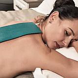 Аплікатор Ляпко 5,8 Ag Шанс розмір 118 х 235 мм голчастий масажний килимок для спини, рук, ніг Помаранчевий, фото 6