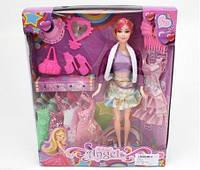 Кукла с аксессуарами и 5 платьями, 30 см