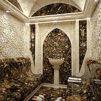 Строительство уникальных хамамов из мрамора, оникса, травертина и гранита.