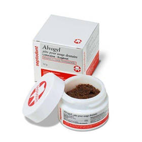 Alveogyl (Альвожил), гемостатична хірургічна пов'язка