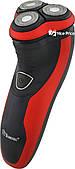 Электробритва с триммером Domotec MS-7731 Black/Red (5025)
