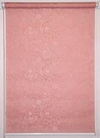 Рулонні штори Арабеска 1842 Рожевий
