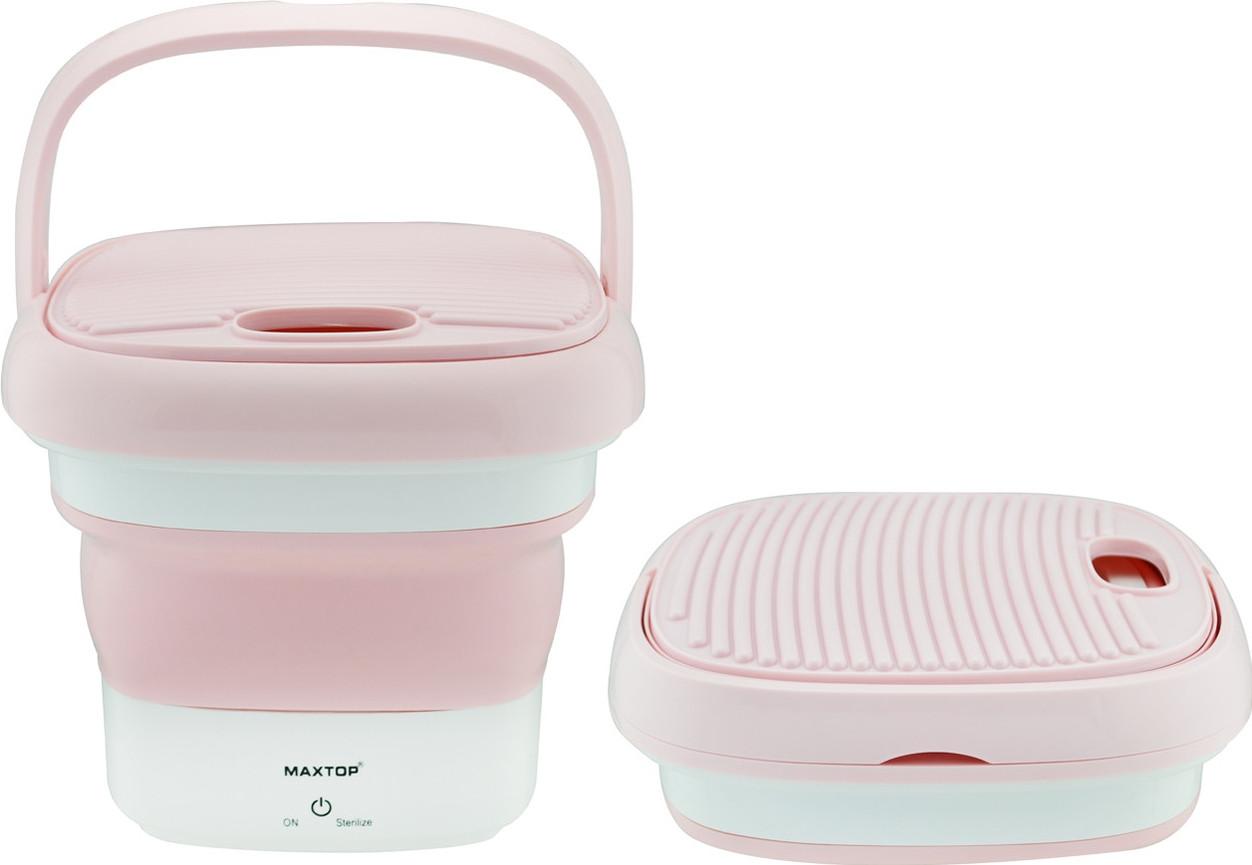 Складная мини стиральная машина Maxtop BX-3 Pink (7399)