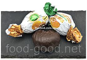 Курага з волоським горіхом у шоколаді, 1кг