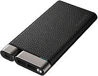 Портативное зарядное устройство Puridea X01 10000mAh Li-Pol +TYPE-C Leather Black (6381850)