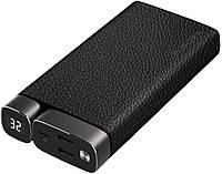 Портативное зарядное устройство Puridea X02 20000mAh Li-Pol +TYPE-C Leather Black (6381851)
