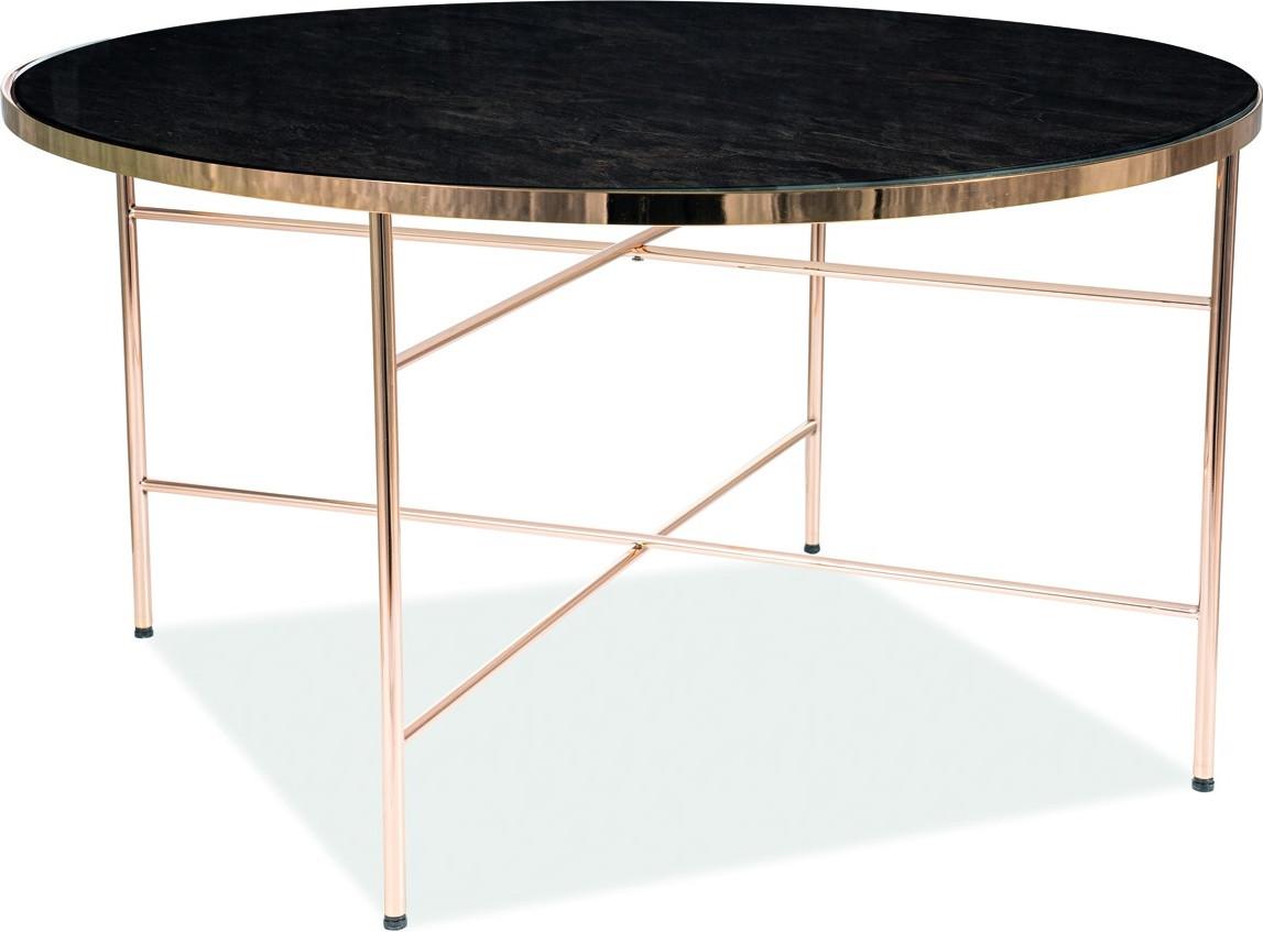 Журнальный стол Signal Ibiza B 45х80 см Золотой (IBIZABMAZL)
