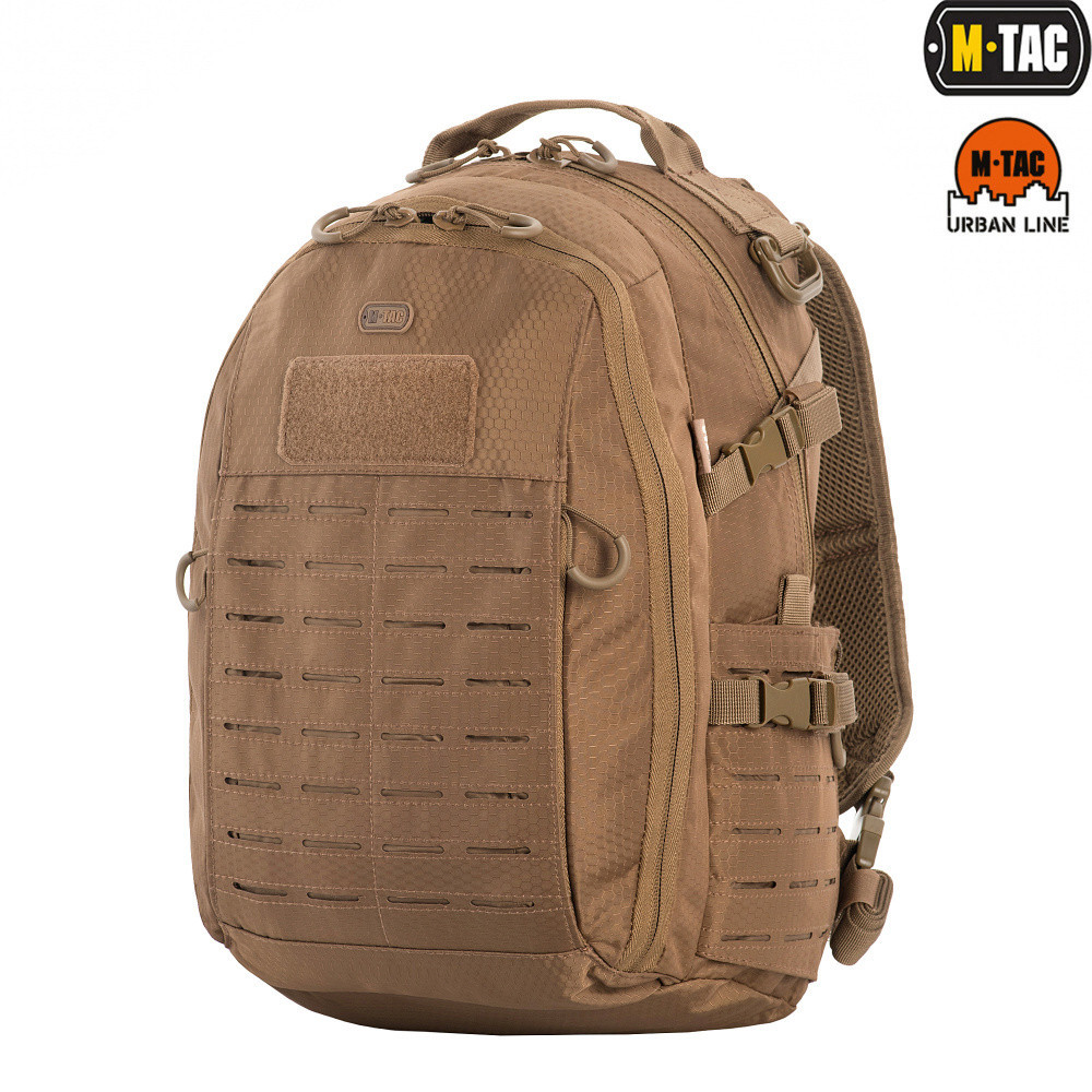 M-Tac рюкзак Urban Line Charger Hexagon Pack Coyote Brown