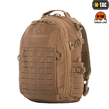 M-Tac рюкзак Urban Line Charger Hexagon Pack Coyote Brown, фото 2