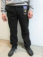 Зимние мужские штаны Azimut 056 чёрные  код 118 Б